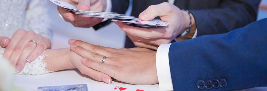 Mariage ou anniversaire magicien close-up