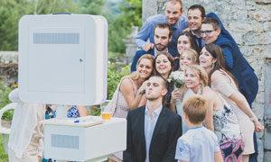 location de bornes photo pour votre mariage